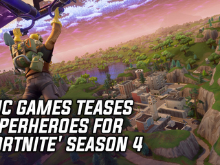 Epic Games Teases Superheroes For 'Fortnite' Season 4