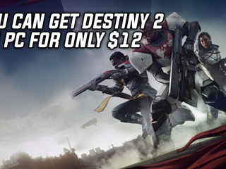 You can get Destiny 2 for $12 thanks to the Humble Monthly Bundle