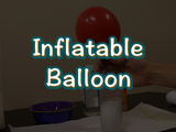 In this science experience, learn how to inflate a balloon using nothing but baking soda and vinegar. You will need: an empty water bottle, vinegar, baking soda, a balloon, and a full or straw.