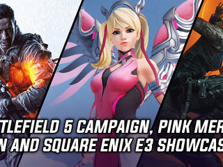 Battlefield 5 single player, Pink Mercy skin and Square Enix E3 games showcase
