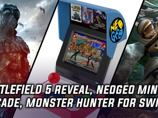 Battlefield 5 reveal date, NEO GEO Mini Arcade, Monster Hunter Generations Ultimate coming to Switch