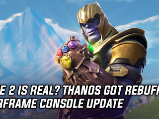 Rage 2 is real? Thanos got rebuffed in Fortnite, and Warframe on consoles gets latest update