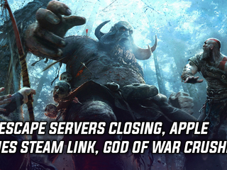 Runescape servers closing, Apple rejects Steam Link app, and God of War has amazing April sales