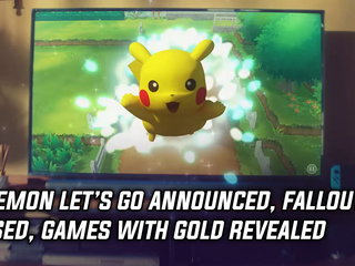 Pokemon Switch announced, Fallout 76 teased and Games with Gold revealed