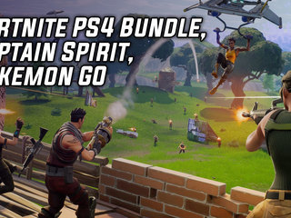 Fortnite PS4 Bundle, Captain Spirit, Pokemon GO