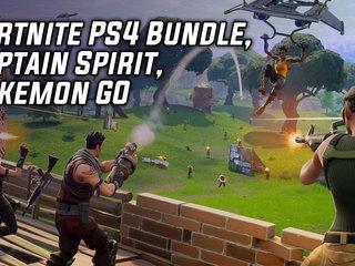 Fortnite PS4 Bundle, Captain Spirit, Pokemon GO