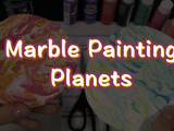 Make these super easy and cool planets with just a few household items! You will need: shaving cream, cardstock, scissors, paint or food coloring.