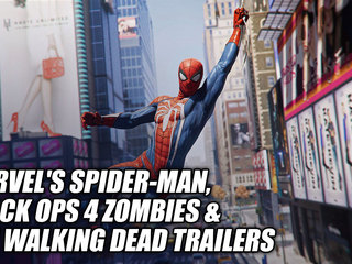 Marvel's Spider-Man, Black Ops 4 Zombies & The Walking Dead Trailers
