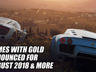 Games with Gold Announced For August 2018 & More