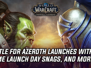World of Warcraft: Battle for Azeroth launches, but not without a few login issues