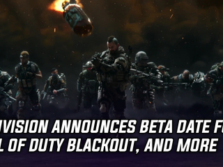 Activision announces beta date for Blackout Battle Royale mode, and more