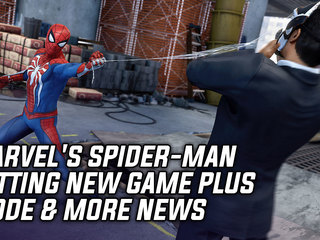 Marvel's Spider-Man Getting New Game Plus Mode & More News