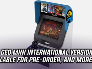 Neo Geo Mini International is available for pre-order on Amazon and Gamestop, and more