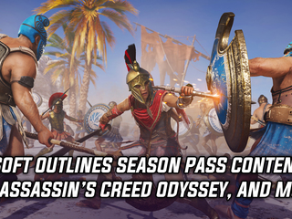 Ubisoft outlines season pass content for Assassin's Creed Odyssey, and more
