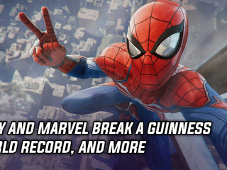Marvel and Sony break a Guinness World Record with Spider-Man, and more