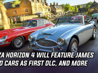 Forza Horizon 4 to feature 10 classic James Bond cars in first DLC, and more