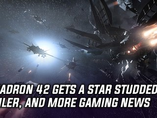 Squadron 42 gets a new star-studded trailer, and more gaming news