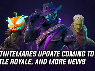 Fortnitemare update coming to Battle Royale mode, and more gaming news
