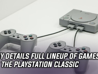 Sony reveals full lineup of games for the PlayStation Classic, and more news