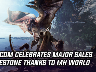 Capcom celebrates major sales milestone thanks to Monster Hunter World, and more Gaming news