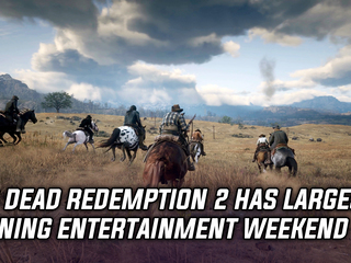Red Dead Redemption 2 had the largest opening weekend for any entertainment product in history