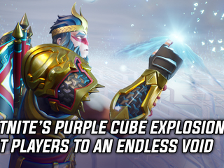 Fortnite's giant purple cube explosion sent players into an endless void, and more Gaming news