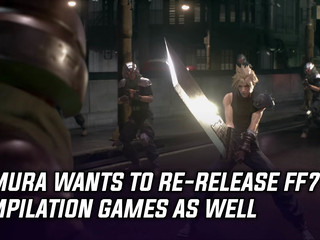 Tetsuya Nomura wants to re-release FF7 compilation games, and more Gaming news