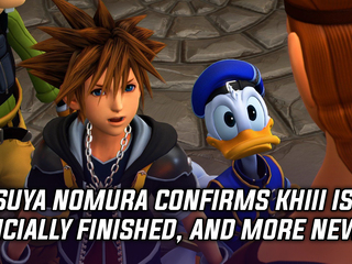 Tetsuya Nomura confirms Kingdom Hearts 3 development is finished, and more news