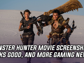 Monster Hunter Movie screenshot looks great, and more Gaming news
