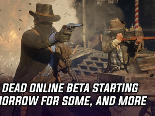 Red Dead Online will have a scattered launch starting tomorrow, and more Gaming news