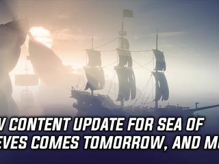 Sea of Thieves gets fourth content update tomorrow, and more Gaming news