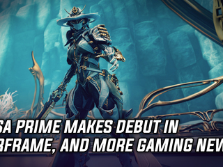 Mesa Prime makes her debut in Warframe today, and more Gaming news