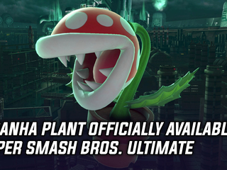 Piranha Plant is now available in Super Smash Bros. Ultimate, and more Gaming news