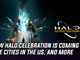 New Halo celebration is coming to five cities in the US, and more Gaming news