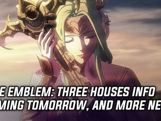 Fire Emblem: Three Houses info coming tomorrow during Nintendo Direct, and more news