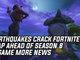 Earthquakes Crack Fortnite's Map Ahead Of Season 8 & More News