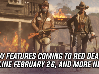 Red Dead Online getting new features on February 26th, and more Gaming news