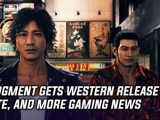 Judgment gets a western release date, and more Gaming news