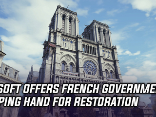 Ubisoft Offers French Government Helping Hand for Restoration