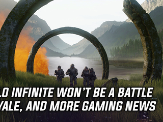 Halo Infinite won't be a Battle Royale game, and more Gaming news
