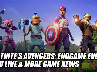 Fortnite's Avengers: Endgame Event Now Live & More Game News