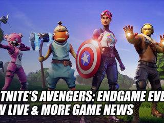 Fortnite's Avengers: Endgame Event Now Live & More Game News