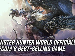 Monster Hunter World is officially Capcom's best-selling game of all time, and more Gaming news