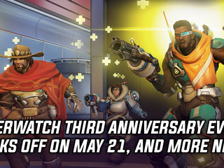 Overwatch third anniversary event kicks off May 21st, and more Gaming news