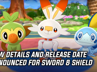 New information and release date announced for Pokemon Sword & Shield, and more Gaming news