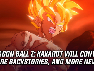 Dragon Ball Z: Kakarot will contain more character backstories, and more Gaming news