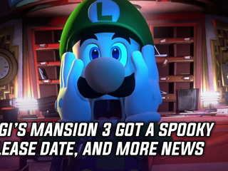 Luigi's Mansion 3 gets a spooky release date, and more Gaming news