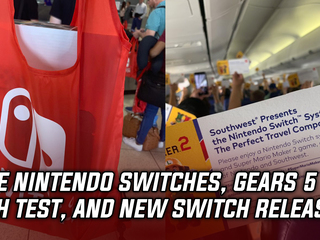 Southwest Airline Passengers Gifted With Nintendo Switch