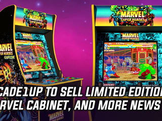 Arcade1Up to sell limited edition Marvel Super Heroes cabinet, and more Gaming news