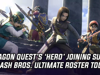 Dragon Quest's 'Hero' releasing today in Smash Bros. Ultimate, and more Gaming news